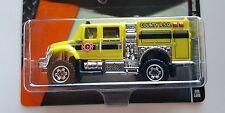 Matchbox 2014 # 69 International Workstar Brush Fire Truck Yellow Heroic Rescue