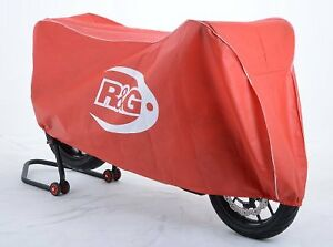 R&G Racing Red Indoor Motorcycle Cover for Supersport / Superbike / Street Bikes
