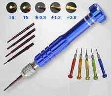 5 in 1 Opening Tools Pentalobe Precision Repair Screwdriver Set for iPhone 4 6S
