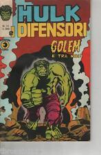 HULK E I DIFENSORI - GOLEM E' TRA NOI - AGOSTO 1975