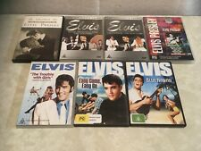 7x Elvis Presley DVD's Reg 4