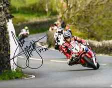 John McGuinness - 2015 Isle of Man TT Autographed 16 x 12 Picture.