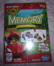 Angry Birds Go! Memory Game Hasbro Gaming 48 Cards Family Game