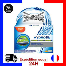 Wilkinson Hydro 5 Groomer & Power Lames rasoir Homme Pack de 4 Rassage Lame