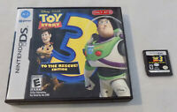 Disney TOY STORY 3 (Nintendo DS) Game Cartridge in Case Tested and Working