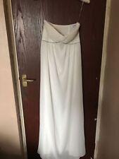 Crystal/Diamante Empire Strapless Wedding Dresses