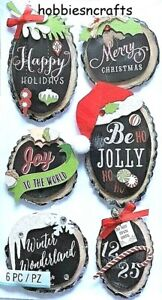 CHRISTMAS HOLIDAY RINGS Jolee's Boutique 3-D Stickers Ornaments Decorations