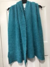 Zara Soft Touch Scarf With Shimmer Effect Turquoise Ref.4373/298
