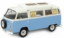 Schuco VW T2a Camper Blue White 1 18 450043500