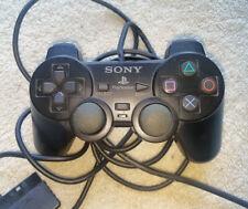 PLAYSTATION 2 ORIGINAL DUALSHOCK 2 ANALOG CONTROLLER BLACK SONY GAMING