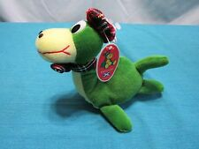 Nessi Loch Ness Monster Plush Stuffed Animal Toy Innes & Cromb Scotland Green