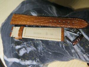 Omega Brown 19mm Alligator Strap including Omega buckle