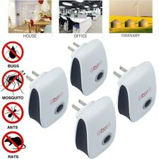 4Pcs Electronic Ultrasound Insect Removal Device Mouse Cockroach Anti Repeller