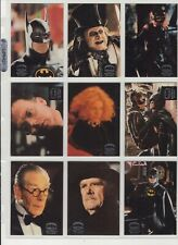 1992 Topps Stadium Club  - Batman Returns - Complete Set of Collectable Cards
