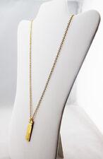 "INC ""BELIEVE"" Gold tone Long Necklace Msrp $29.50"