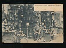Egypt CAIRO Boutique de cuivres et de bronze Brass & Bronze Shop 1907 u/b PPC