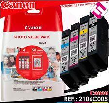 Cartucho canon 2106c005 Cli-581 Bk/c/m/y Photo Value BL