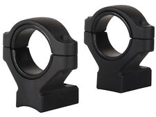 """NEW Remington 2-Piece Scope Mounts with Integral 30mm Rings, 1"""" High 19477"""