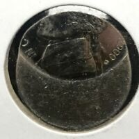 "RARE: 2000-D Jefferson Nickel U.S. Error BU. Coin ""Off Center Broad-struck"""