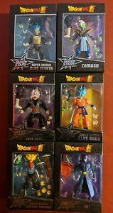 Dragon Ball Super Dragon Stars Series SSGSS Goku, Rose Goku, Hit, Trunks, Zamasu