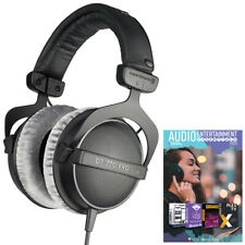 BeyerDynamic DT 770-PRO Studio Headphones 80 Ohms Closed Dynamic + Audio Bundle