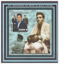 0425 Mozambique 2002 Elvis Presley boxing S/S Mnh imperf