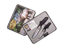 Coltelli Caccia Buck Combo Collector's Set 351 & 352 Combo157-C Hunting Knives