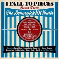 I FALL TO PIECES-BRUNSWICK UK VAULTS (PATSY CLINE, BRENDA LEE, UVM.) 3 CD NEW+