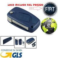 GUSCIO COVER CHIAVE FIAT 3 TASTI TELECOMANDO G. Punto Panda Stilo Bravo con Logo