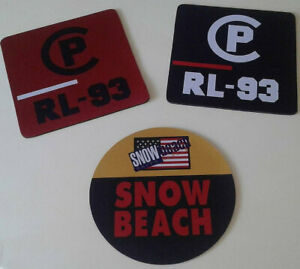 """Vintage Polo Ralph Lauren """"Mouse Pads"""" Snow Beach and CP RL-93"""
