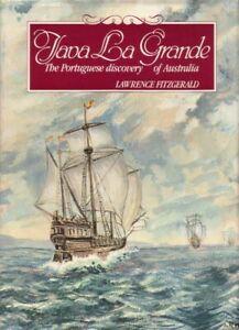 Java La Grande The Portuguese Discovery of Australia BOOK History SIGNED