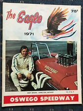 1971 Oswego Speedway Program Vol.8 #3 Andy Brown