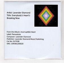 (GI354) Lavender Diamond, Everybody's Heart's Breaking Now - DJ CD