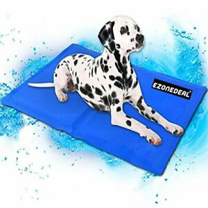 Large Dog Cooling Mat (Blue) | Keeps your larger pets cool & calm during summer