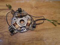 1989-1992 Yamaha 40 50 hp magneto stator base assembly