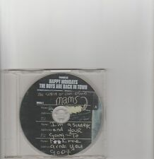 Happy Mondays- The Boys are Back in Town UK promo cd single.