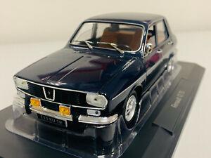 Norev Renault 12 TS 1973 Dark Blue 1/18 185214 0721 1