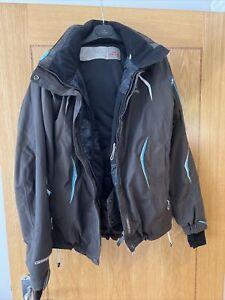 Eider Women's Brown Ski Jacket Size 42 (Medium Size 14)