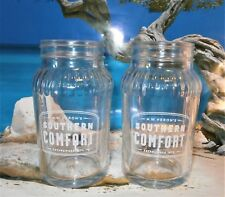 Southern Comfort x 2 Jar Glasses New/Unused