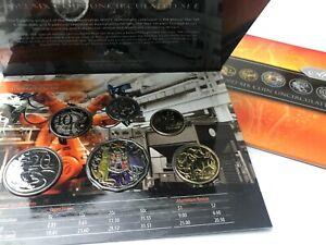 2012 SPECIAL EDITION 6 Coin Mint Set inc Unique Hyper-metallic Coloured 50¢ RARE