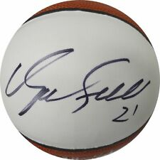 Dominique Wilkins Hand Signed Autographed Mini Basketball Atlanta Hawks W/ COA