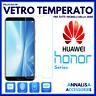 Pellicola in VETRO TEMPERATO per HUAWEI HONOR 10/9/8/7/6/5/Lite/View/Play/A/C/X