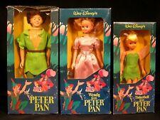 Wailt Disney's Peter Pan Action Figures Peter Wendy Tinkerbell Figures 3