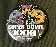 New listing Collectible Sports (1997) Pin: Super Bowl Xxxi Ne Patriots - Green Bay Packers