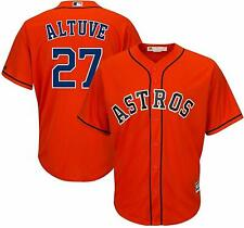 JOSE ALTUVE HOUSTON ASTROS YOUTH MEDIUM 10/12 ORANGE MLB BOYS JERSEY
