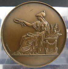 """Médaille en bronze signée """"BRENET"""""""