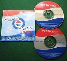 Pepsi Chart 2002 Kylie Gorillaz Ash Feeder + CD x 2