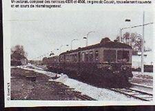 1984  --  BELGIQUE  EN GARE DE COUVIN  P961
