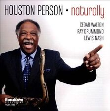 CD Naturally by Houston Person NEW