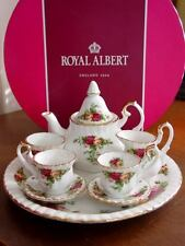 Royal Albert OLD COUNTRY ROSES Le Petite Miniature Mini Tea Set  - NEW / BOX!